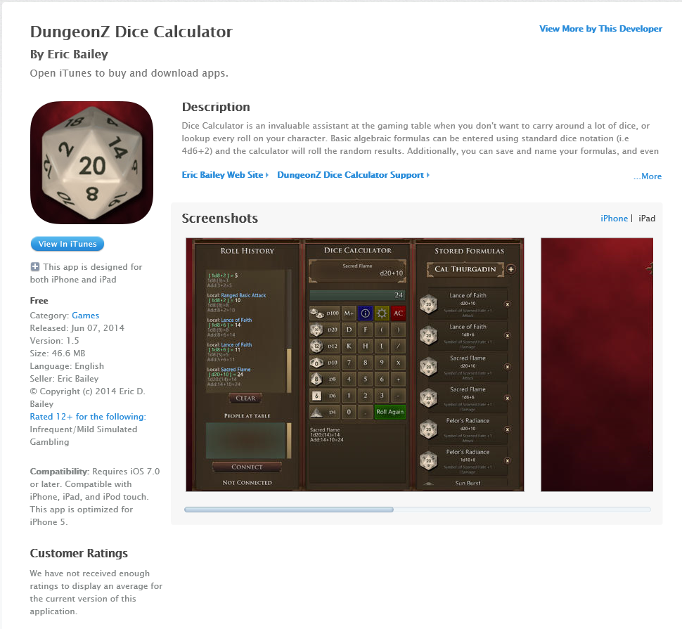 Finally Deployed for iOS – iPad and iPhone | DungeonZ